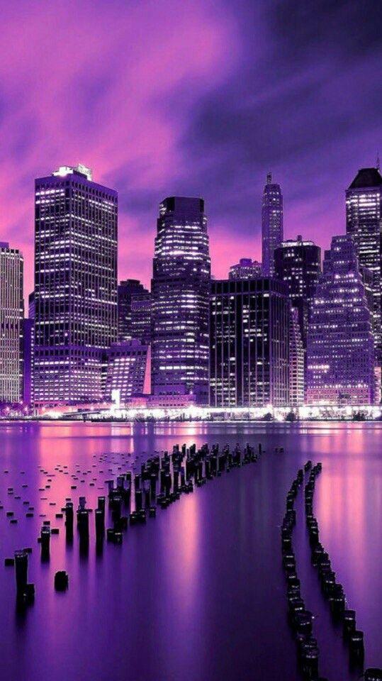 Pin By Alejandra On Wallpaper Dark Purple Aesthetic Purple City Purple Wallpaper Iphone Dark purple aesthetic wallpaper city