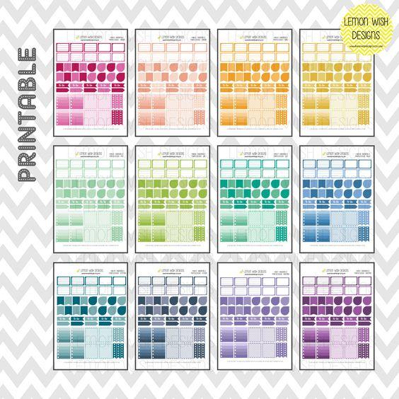 Design 1 Horizontal Annual Bundle Pack by LemonWishDesigns