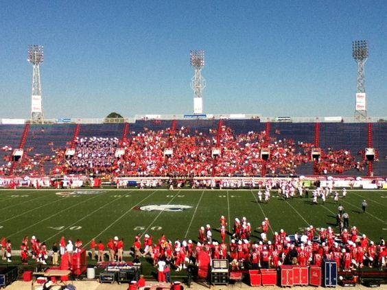 Ladd Peebles Stadium Stadium Football Stadiums University Of South Alabama