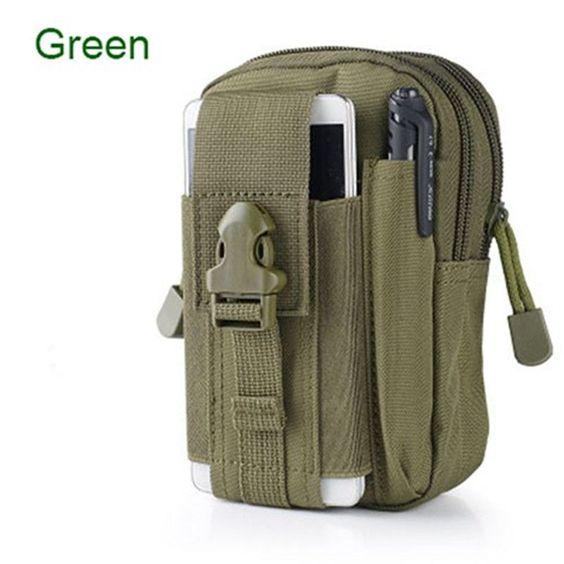 Universal Outdoor Tactical Holster Military Molle Hip Waist Belt Bag