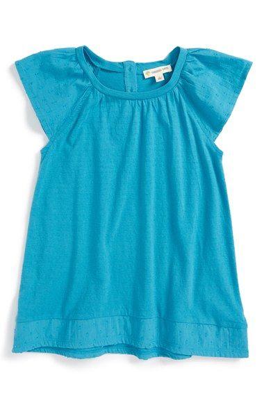 Tucker + Tate Flutter Sleeve Tunic (Toddler Girls, Little Girls & Big Girls)
