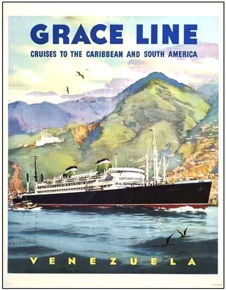 Grace Lines - 1950 ad