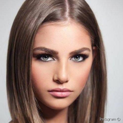 صبغة الاشقر الزيتي تدخل عالم الموضة Ash Hair Color Light Hair Color Brown Hair Shades