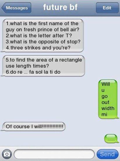 Haha good one
