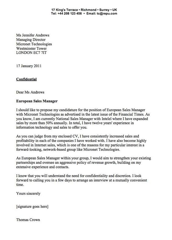 sales job cover letter examples letter pinterest job