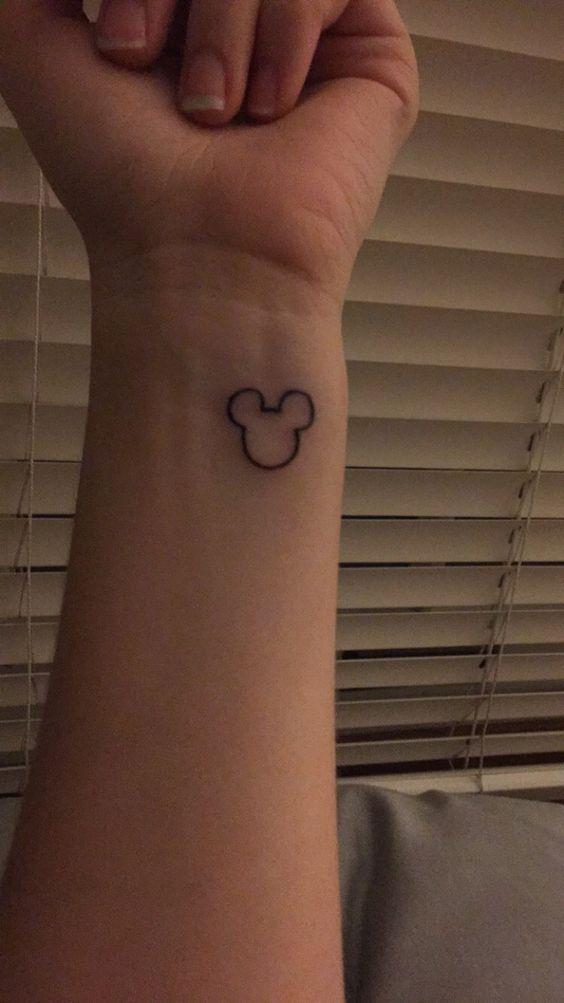 Disney tattoo, Mickey Mouse