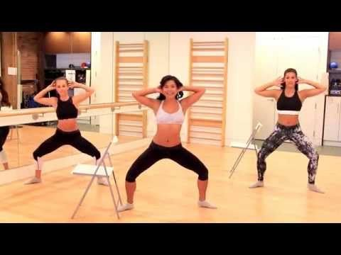 Barre Fitness | Abs Workout | Standing Core Work - YouTube