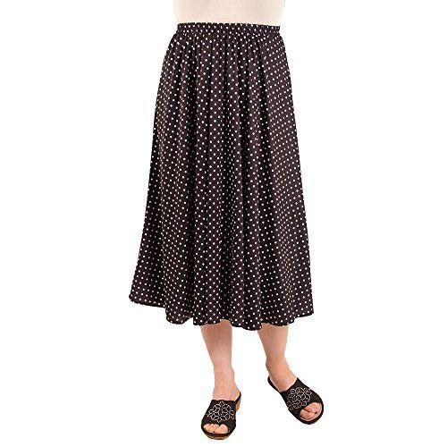 Fashion Friendly Ladies Polka Dot Skirt M Skirts Fashion Women