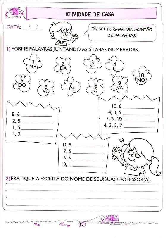 Apostila Com Atividades De Matematica Para 5 E 6 Anos Com Imagens