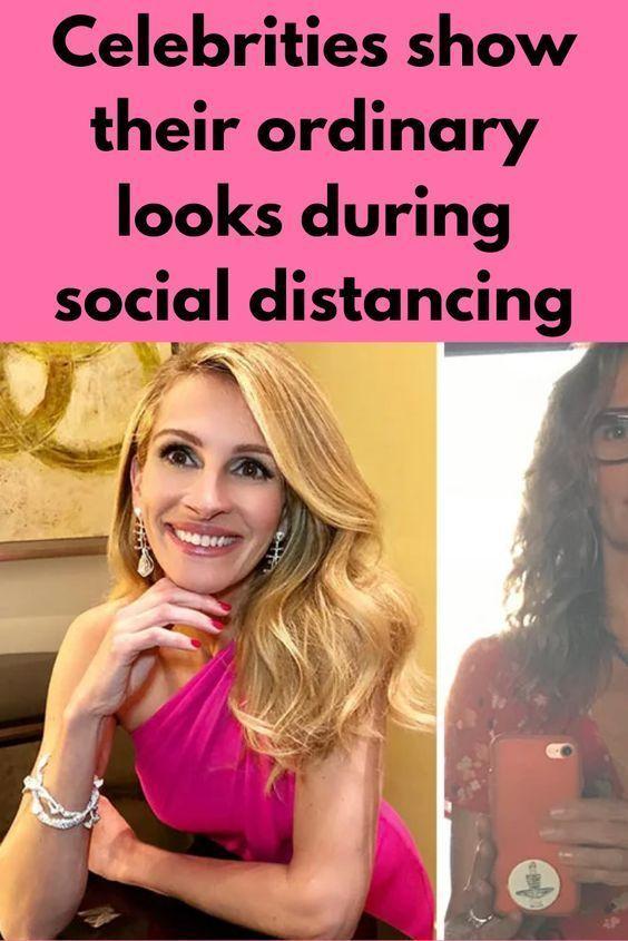 Celebrities Show Their Ordinary Looks During Social Distancing Celebrities Entertainment News Celebrities Good Jokes