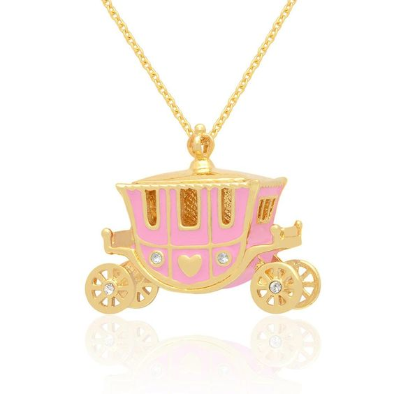 Lily Nily Girl's Princess Carriage Necklace