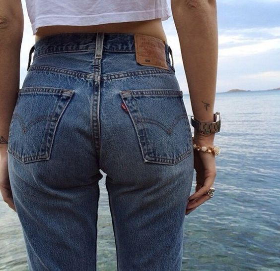 old school levis for the bubble butt effect | My style | Pinterest