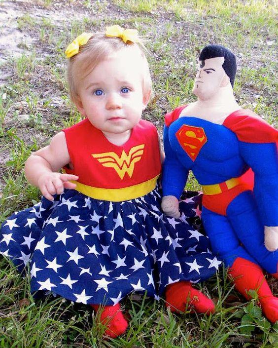 Superman, baby, cosplay