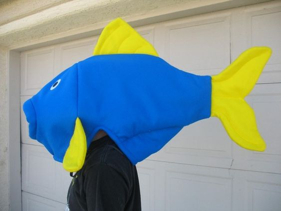 Blue Fish Costume One Size by LauriesGift on Etsy, $42.00