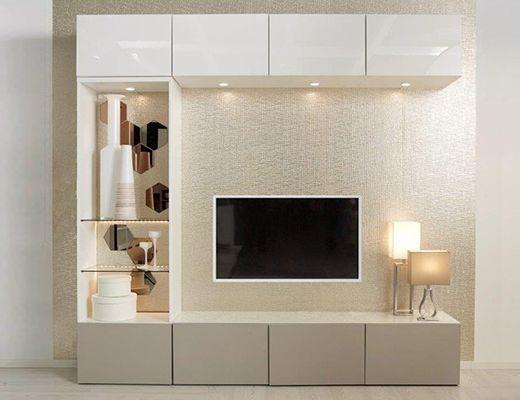 BESTÅ Tv Meubel   Wandkast Voor Als Een Koof Niet Mogelijk Is. | House  Ideas | Pinterest | Living Rooms, Tv Units And TVs