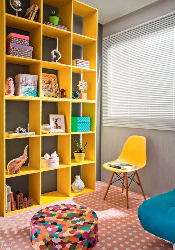 Home office e quarto de hóspedes por 10 x R$ 596 Madeira  ~ Transformar Home Office Em Quarto De Bebe