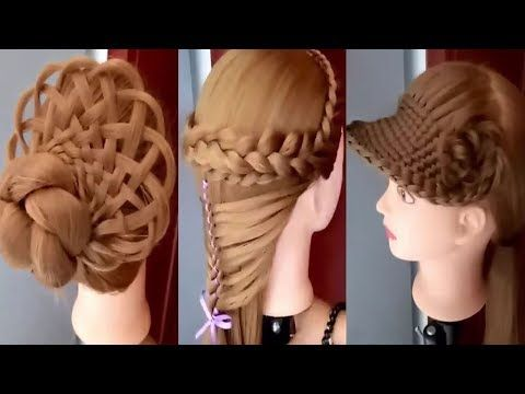 08 Amazing Hair Transformations Easy Beautiful Hairstyles Tutorials Best Hairstyles For Girls Youtub Coiffure Facile Belle Coiffure Coiffure Facile A Faire