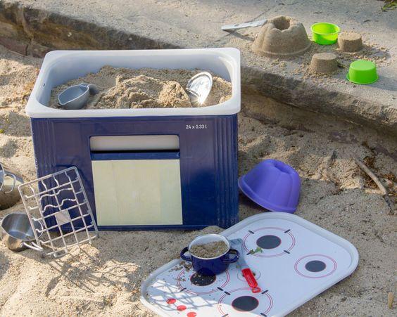 DIY Kindergrill - Outdoor-Kinderküche - Matschküche - Limmaland - Kleben. Spielen. Leben.