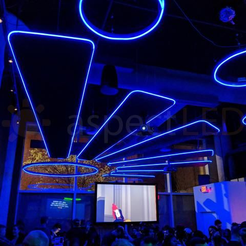 Led Neon Flexible Light Club Lighting Club Design Interior Led Panel Light