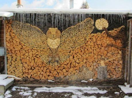 Cool Fire Wood Art