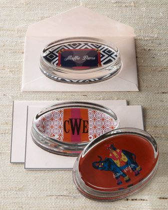 Personalized Paperweights by iomoi at Neiman Marcus.