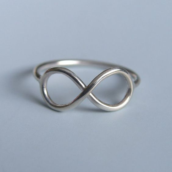 Handmade infinity ring: Silver Infinity, Sterling Silver, Infinity Rings, Infinity Symbol