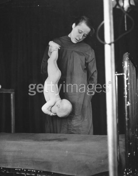 The movements of a child being study during the research of child deveolpment at Columbia University, 1940. Photo: Hansel Mieth / Time Life Pictures / Getty Images