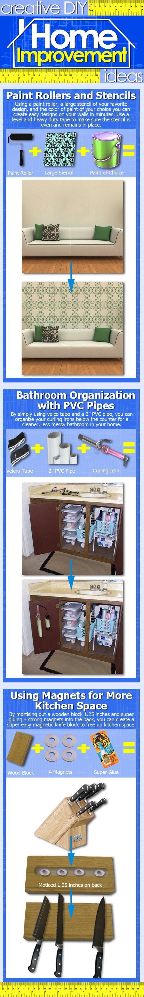 Creative home improvement projects