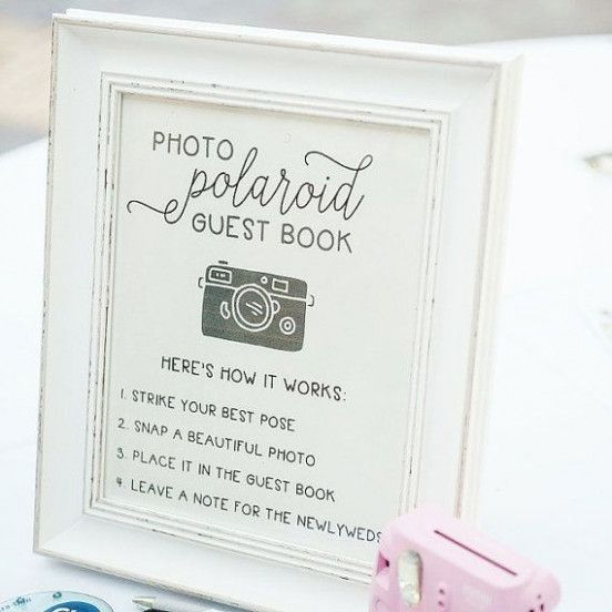 Wedding Quotes Signs Guest Books Wedding Guest Book Sign Wedding Quote Signs Polaroid Guest Book Sign