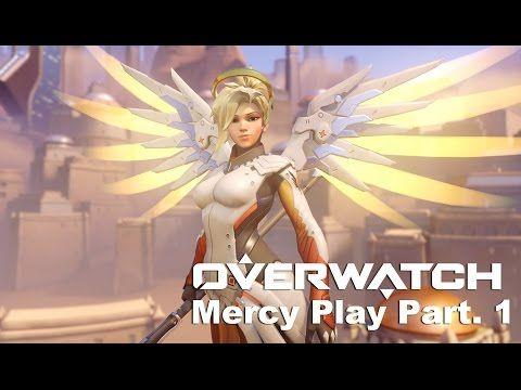 VJ Troll's game video: Overwatch KR Server - Mercy Part . 1 (오버워치) 메르시 플레...