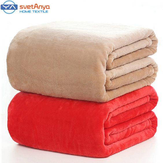 $37.80 (Buy here: https://alitems.com/g/1e8d114494ebda23ff8b16525dc3e8/?i=5&ulp=https%3A%2F%2Fwww.aliexpress.com%2Fitem%2FFlano-Flannel-air-sofa-Blanket-bedding-150-200cm%2F947733811.html ) Flannel solid color Blanket air/sofa/bedding Throws soft Plaids winter flat Bedsheet 150*200cm  180*200cm 200*230cm 230*250cm for just $37.80