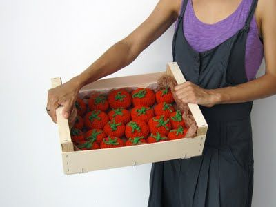 Crochet tomatoes!
