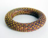 Knitted bracelet from Supermarno Studio via Etsy.com