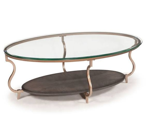 gold glass top coffee table - Google Search