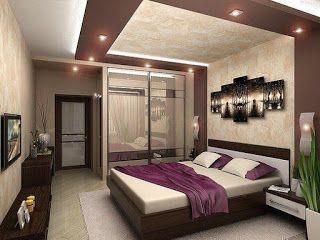صور ديكورات جبس بورد غرف نوم مودرن 2018 Bedroom Furniture Design Bedroom Bed Design Master Bedroom Design