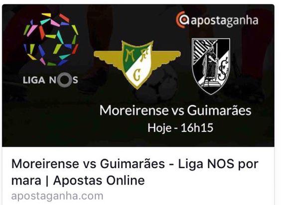 Hoje tem jornada da Liga NOS aqui no Apostaganha... Vejam o prognóstico que separamos para vocês...  http://www.apostaganha.com/2016/01/06/prognostico-apostas-moreirense-vs-guimaraes-liga-nos-1121/  200 euros de bônus, cashout e um dos melhores live. Conheça a 10bet:  http://bit.ly/promo-10bet-AG  #apostas #apostaganha #apostasonline #liganos #futebol