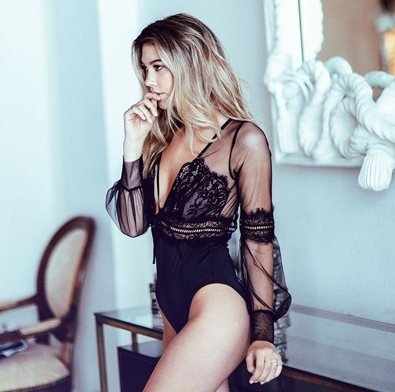 Our Alexa Bodysuit on #MYFLL babe @nataliezucchero: