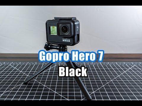 Gopro Hero 7 Black Unboxing Hero 7 Available Gopro Hero Gopro Unboxing