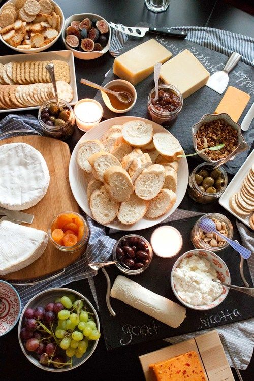 how to: host a wine & cheese party