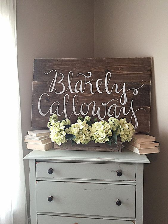1000 ideas about nursery name on pinterest baby names for Baby name decoration