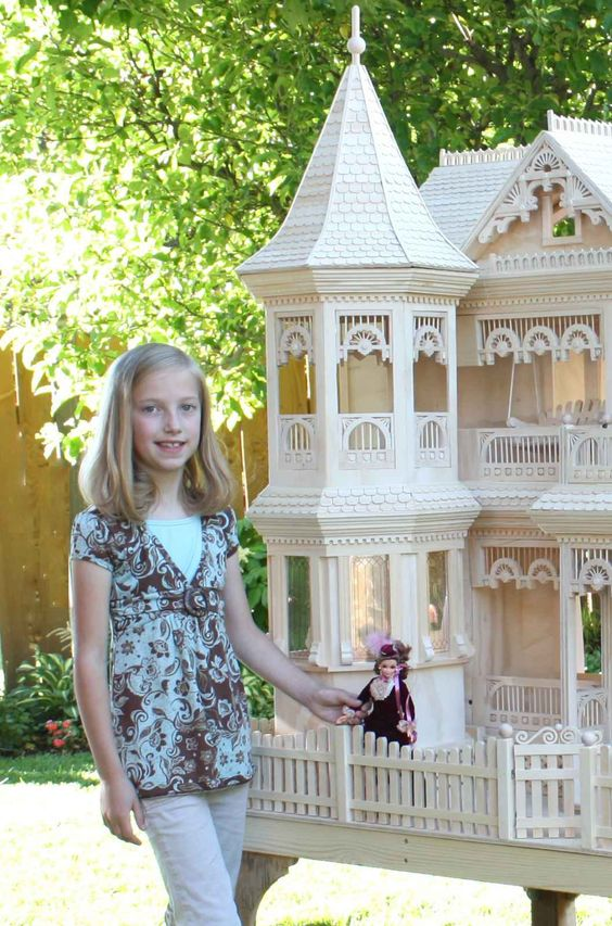 House Plans Barbie Dolls And Doll House Plans On Pinterest