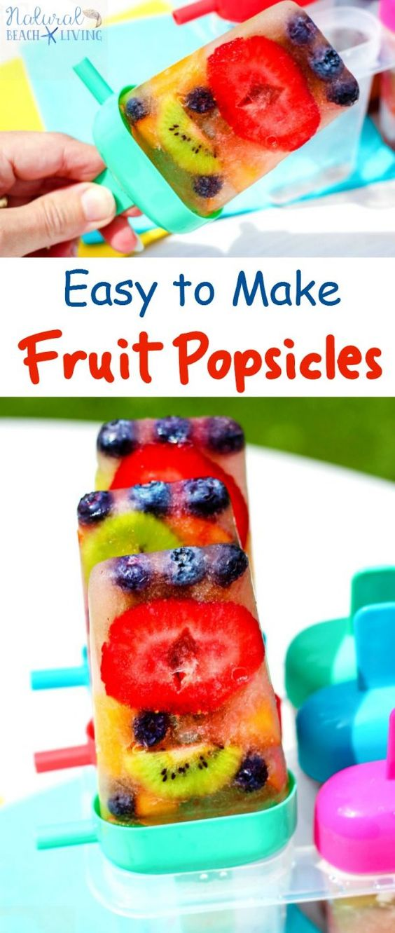 20 Refreshing & Healthy Popsicle Recipes
