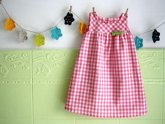 Lovely gingham dress!