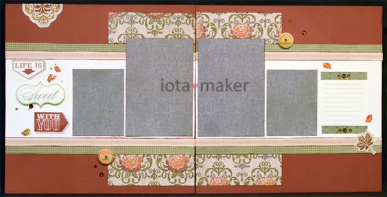 layout by Nicole Norris using CTMH Huntington paper