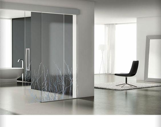 Vidrio esmerilado interior puertas buscar con google viniles pinterest interiores - Puertas cristal interior ...