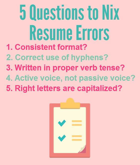 5 questions to ask to make sure your resume is