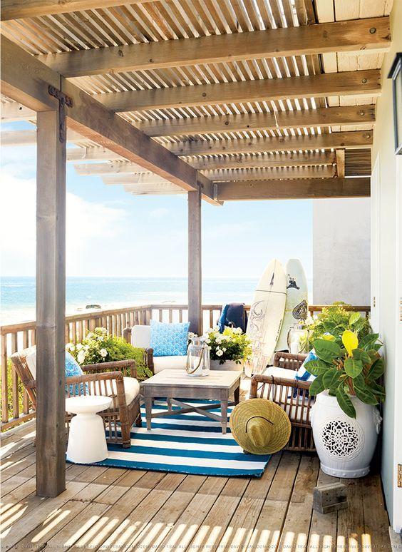 Terraza de madera y p rgolas terrazas relax pinterest - Pergolas de madera para terrazas ...