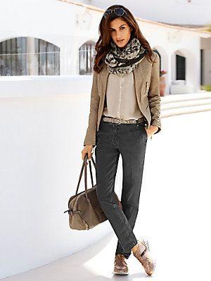 #Chino #Tasche #Bluse #Lederjacke