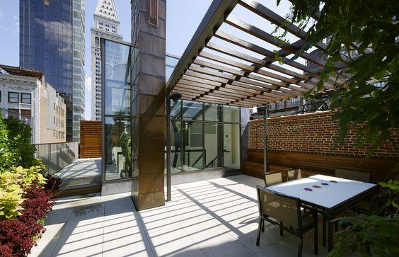 Joshua Bell Penthouse   Charles Rose Architects