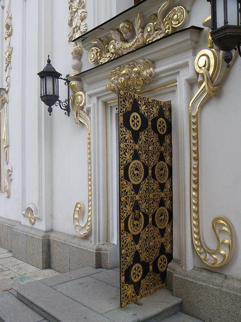 Kyiv baroque entrance doors and for Baroque door handles